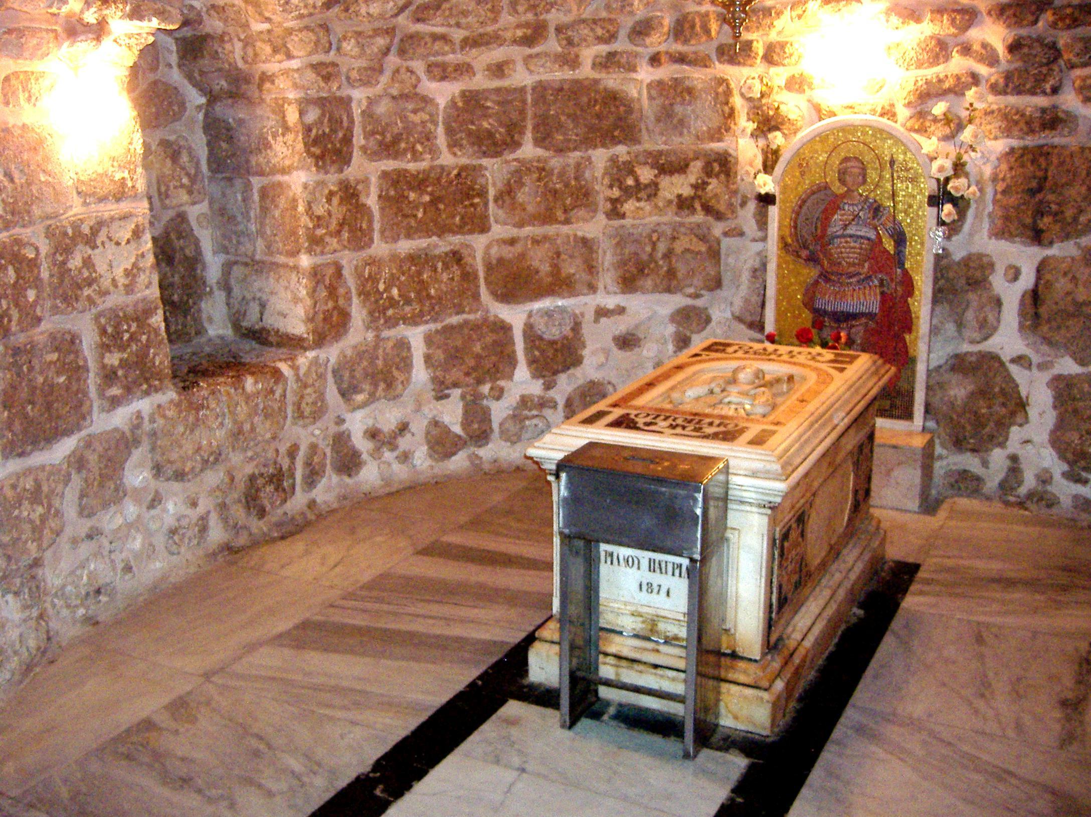 Ο τάφος του Αγίου Γεωργίου στη Λύδδα