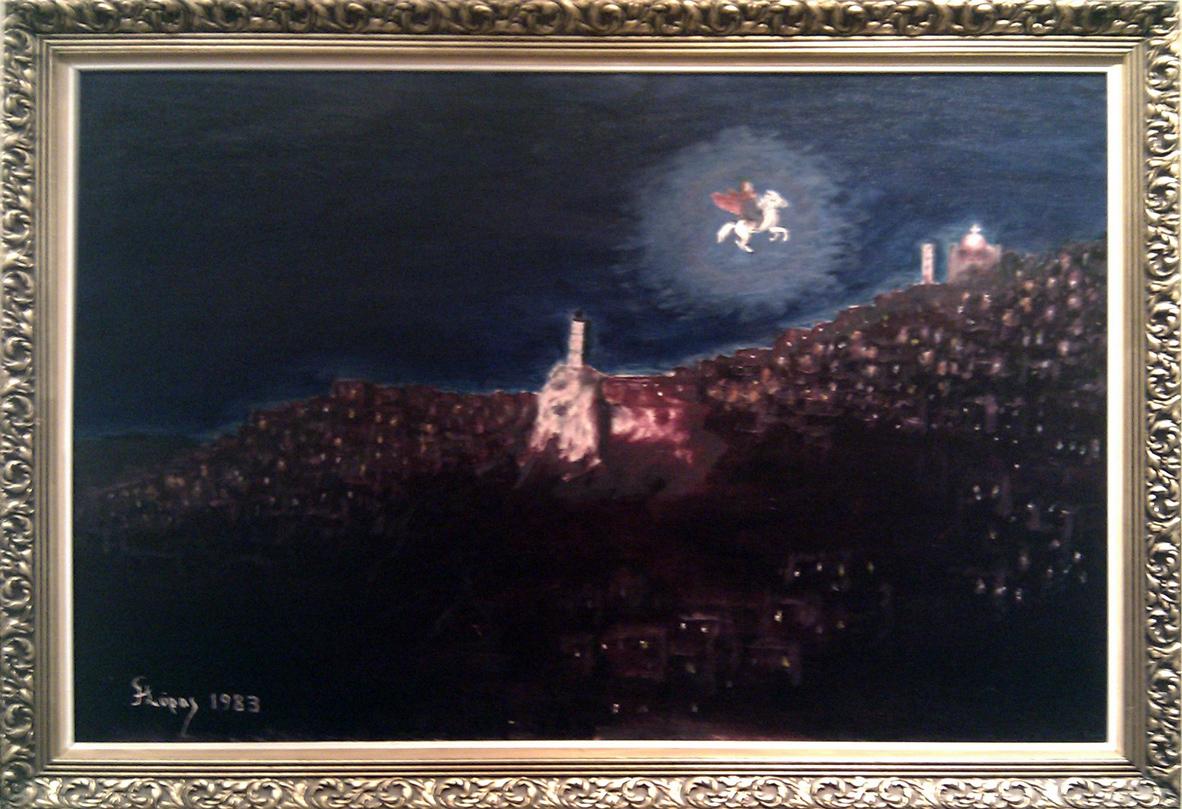 Η Μάχη της Αράχωβας (Πίνακας Σύρου)